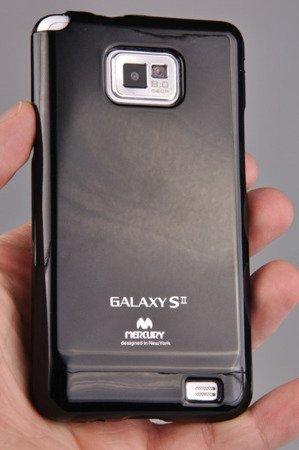 Etui Nakładka Mercury Goospery Jelly Case do SAMAUNG Galaxy S2 / S2 Plus czarny