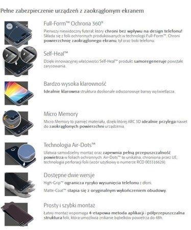 3MK ARC 3D SE High-Grip Folia na przód tył boki do Apple iPhone 7 Plus  / 8 Plus