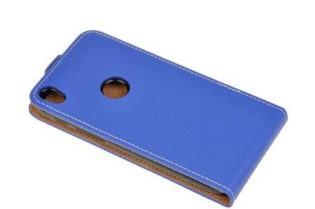 ETUI KABURA FLEXI do ALCATEL SHINE LITE 5080X niebieski