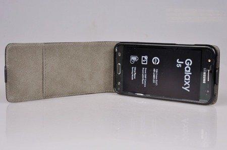 ETUI KABURA FLEXI do Samsung Galaxy J5 J500 czarny