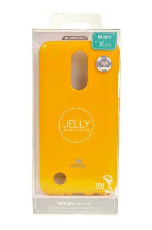 ETUI NAKŁADKA MERCURY GOOSPERY JELLY CASE do LG K8 2017 żółty