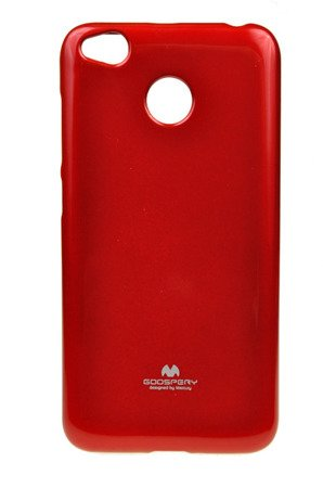 ETUI NAKŁADKA MERCURY GOOSPERY JELLY CASE do Xiaomi Redmi 4X czerwony