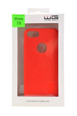ETUI NAKŁADKA WG LIQUID do APPLE iPhone 7 / iPhone 8 czerwony