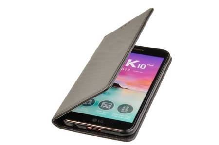 ETUI SMART do LG K10 2017 czarny
