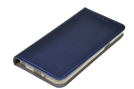 ETUI SMART do LG Q6 niebieski