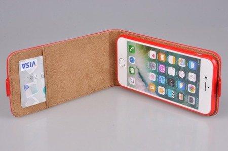 Etui Kabura Flexi Fresh do Apple iPhone 7 / 8 / SE 2020 czerwony
