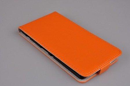 Etui Kabura Flexi do SONY XPERIA M5 pomarańczowy