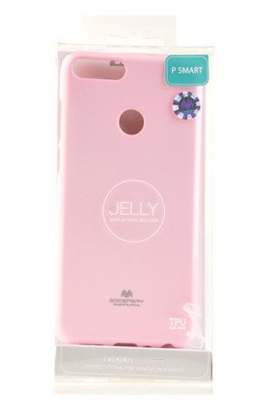 Etui Mercury Goosper Jelly Case do HUAWEI P Smart pudrowy róż