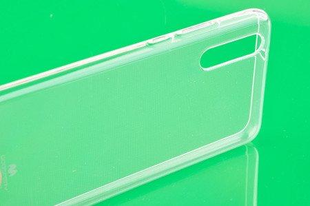 Etui Mercury Goosper Jelly Case do HUAWEI P20 przezroczysty