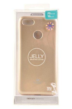 Etui Mercury Goosper Jelly Case do HUAWEI P9 Lite Mini złoty