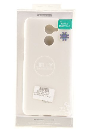 Etui Mercury Goosper Jelly Case do HUAWEI Y7 2017 biały