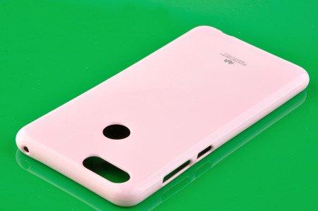 Etui Mercury Goosper Jelly Case do Huawei Honor 7X pudrowy róż