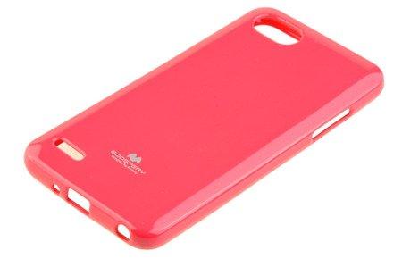 Etui Mercury Goosper Jelly Case do LG Q6 różowy