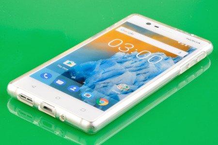Etui Mercury Goosper Jelly Case do Nokia 3 przezroczysty