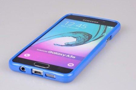 Etui Mercury Goosper Jelly Case do SAMSUNG GALAXY A3 2016 niebieski