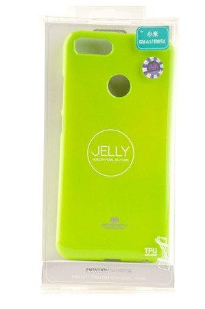 Etui Mercury Goosper Jelly Case do XIAOMI MI A1 / 5X limonka