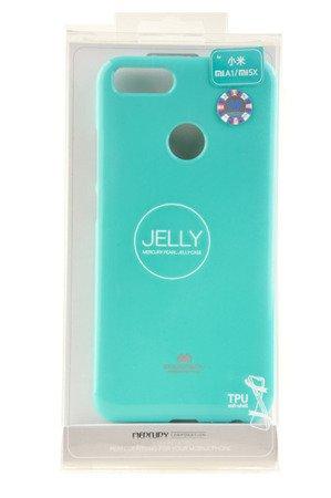 Etui Mercury Goosper Jelly Case do XIAOMI MI A1 / 5X miętowy