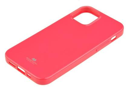 Etui Mercury Goospery Jelly Case do Apple iPhone 12 / 12 Pro różowy