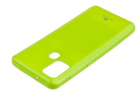 Etui Mercury Goospery Jelly Case do Samsung Galaxy A21s limonka