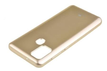 Etui Mercury Goospery Jelly Case do Samsung Galaxy A21s złoty