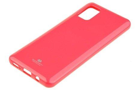 Etui Mercury Goospery Jelly Case do Samsung Galaxy A31 różowy