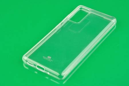 Etui Mercury Goospery Jelly Case do Samsung Galaxy S20 FE przezroczysty
