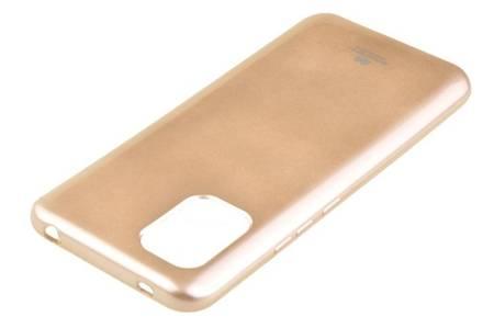 Etui Mercury Goospery Jelly Case do Xiaomi Mi 10 Lite 5G złoty