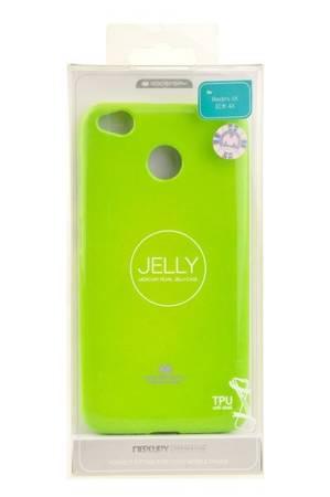 Etui Mercury Goospery Jelly Case do Xiaomi Redmi 4X limonkowy
