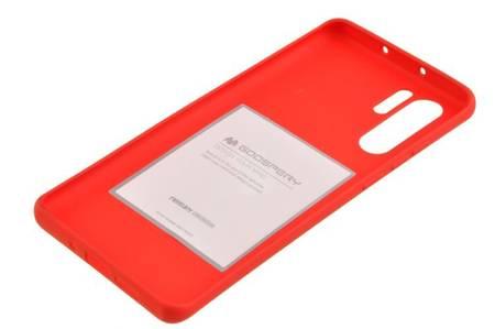 Etui Mercury Goospery Soft Feeling do Huawei P30 Pro czerwony
