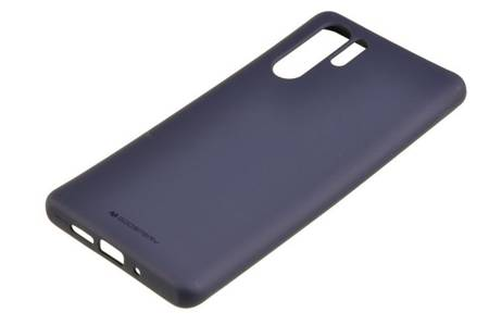 Etui Mercury Goospery Soft Feeling do Huawei P30 Pro granatowy