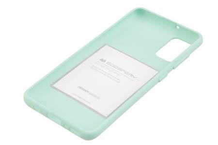 Etui Mercury Goospery Soft Feeling do Samsung Galaxy A41 miętowy