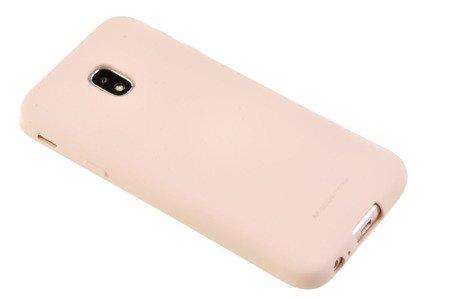 Etui Mercury Goospery Soft Feeling do Samsung Galaxy J3 2017 J330 beżowy