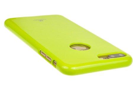 Etui Mercury Jelly Case do APPLE iPhone 7 Plus / 8 Plus limonka