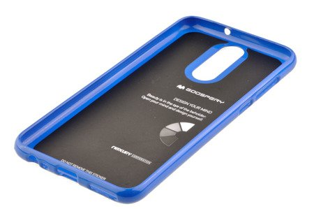 Etui Nakładka Mercury Goospery Jelly Case do HUAWEI Mate 10 Lite niebieski
