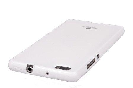 Etui Nakładka Mercury Goospery Jelly Case do HUAWEI P8 Lite biały