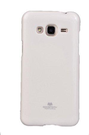 Etui Nakładka Mercury Goospery Jelly Case do SAMSUNG GALAXY J3 2016 J320 biały