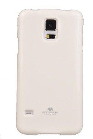 Etui Nakładka Mercury Goospery Jelly Case do SAMSUNG GALAXY S5 G900 / S5 NEO G903 biały