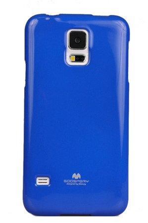 Etui Nakładka Mercury Goospery Jelly Case do SAMSUNG GALAXY S5 G900 / S5 NEO G903 niebieski