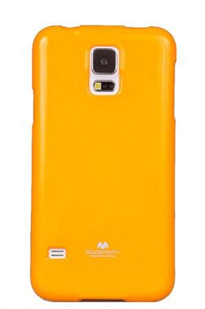 Etui Nakładka Mercury Goospery Jelly Case do SAMSUNG GALAXY S5 G900 / S5 NEO G903 żółty