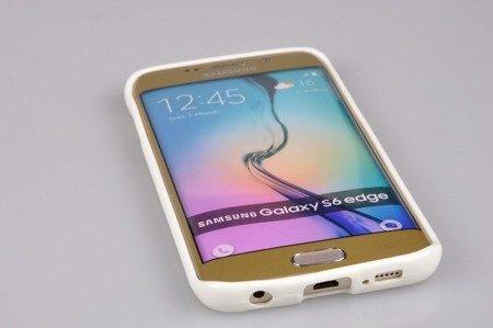 Etui Nakładka Mercury Goospery Jelly Case do SAMSUNG GALAXY S6 EDGE G925 biały