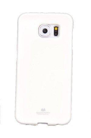 Etui Nakładka Mercury Goospery Jelly Case do SAMSUNG GALAXY S6 G920 biały