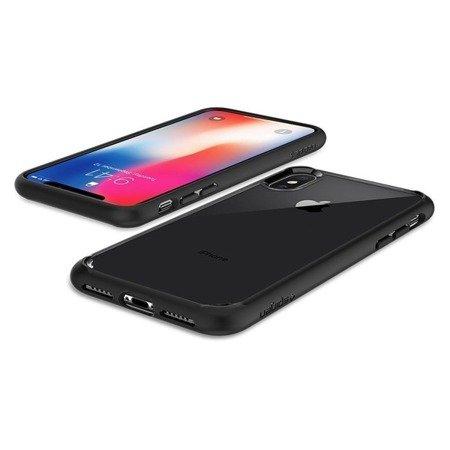 Etui Nakładka Spigen Ultra Hybrid do IPHONE X/10 Matte Black