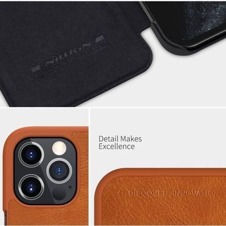 Etui Nillkin Qin case do Apple iPhone 12 Pro Max czerwony