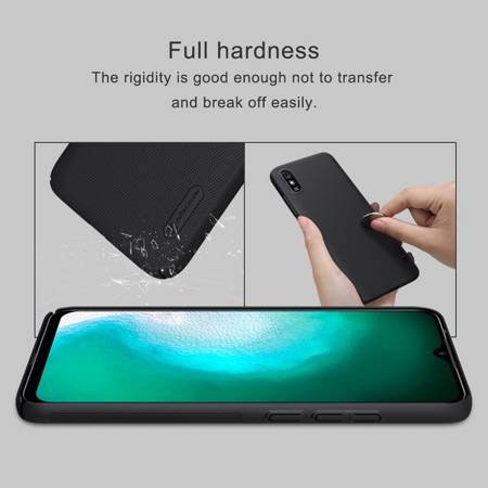 Etui Nillkin Super Frosted Shield do Xiaomi Redmi 9A czarny