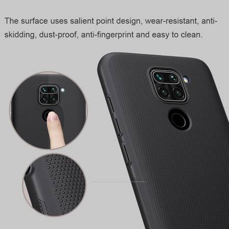 Etui Nillkin Super Frosted Shield do Xiaomi Redmi Note 9 czarny