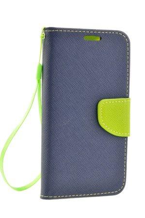 Etui Portfel Fancy Case do SONY Xperia XZ Premium niebieski
