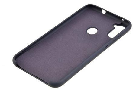 Etui Silicone Case do Samsung Galaxy M11 / A11 granatowy