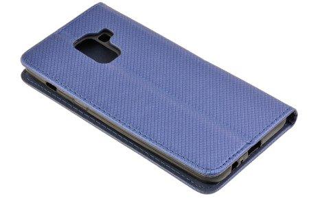 Etui Smart W2 do SAMSUNG GALAXY A8 2018 A530 niebieski