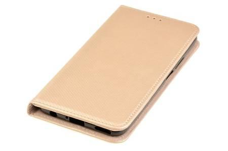 Etui Smart do Huawei P40 Lite 5G złoty