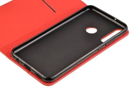 Etui Smart do Huawei P40 Lite E czerwony
